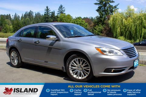 2013 Chrysler 200 Limited, Leather, Sunroof