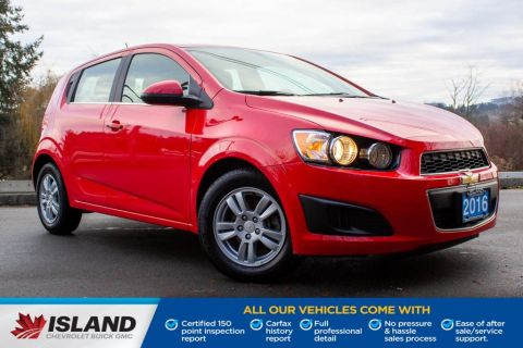 2016 Chevrolet Sonic LT, Turbo, Remote Start, Heated Seats
