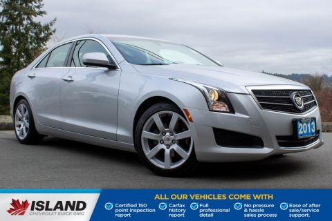 2013 Cadillac ATS STD, Leather Interior Sunroof, Low KM