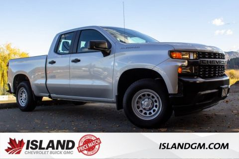 New 2020 Chevrolet Silverado 1500 Work Truck RWD Extended Cab Pickup