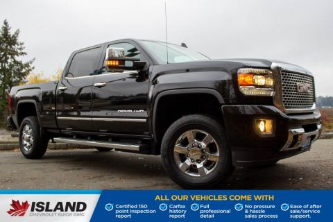 2015 GMC Sierra 3500HD Built After Aug 14 Denali, Tonneau Cover, Duramax Diesel, Sunroof