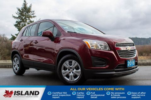 2016 Chevrolet Trax LS, Low KM, Bluetooth