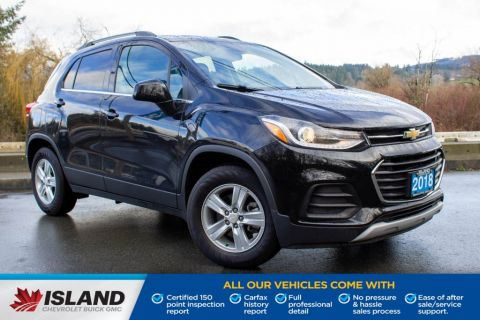 2018 Chevrolet Trax LT, Bluetooth, Rearview Camera