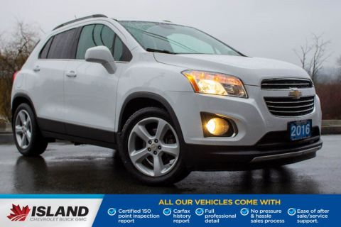 2016 Chevrolet Trax LTZ, Leather Interior, Sunroof, Heated Seats, Sirius XM