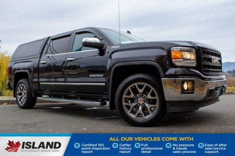 2015 GMC Sierra 1500 SLT, Canopy, Sunroof, Leather Interior