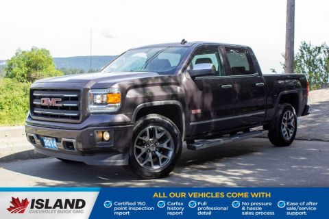 2014 GMC Sierra 1500 SLT, One Owner, Leather Interior, Seat Memory